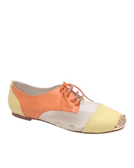 LACED MULTI COLORED OXFORDS - orangeshine.com