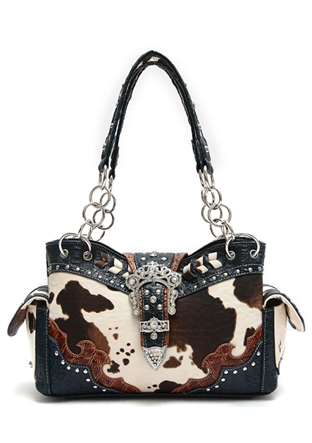 COW BUCKLE SHOULDER BAG - orangeshine.com