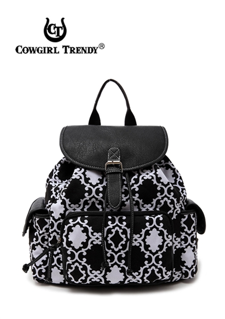 QUATREFOIL BACKPACK - orangeshine.com