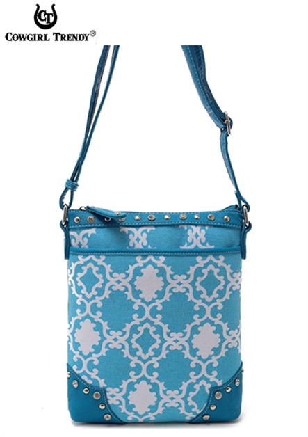 QUATREFOIL MESSENGER BAG - orangeshine.com