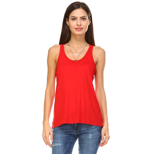 Flowy Tank Top Tops - orangeshine.com