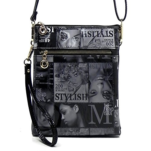 Magazine Cover Cross Body Bag - orangeshine.com