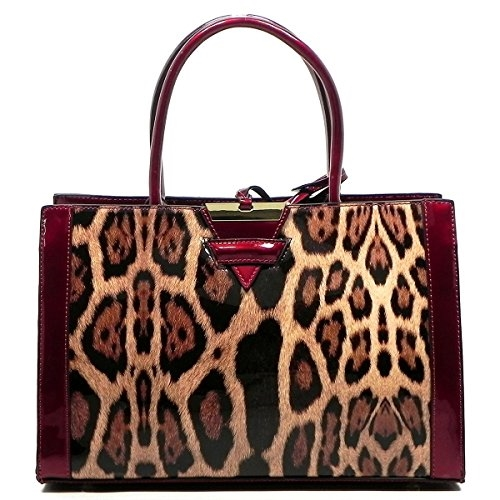 Python Snake Skin Box Shopper - orangeshine.com
