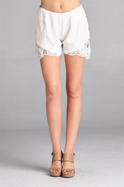 CROCHET ELLI SHORTS - orangeshine.com