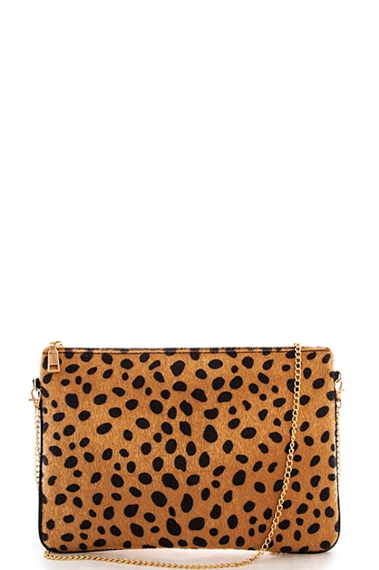 Designer Soft Fur Clutch - orangeshine.com