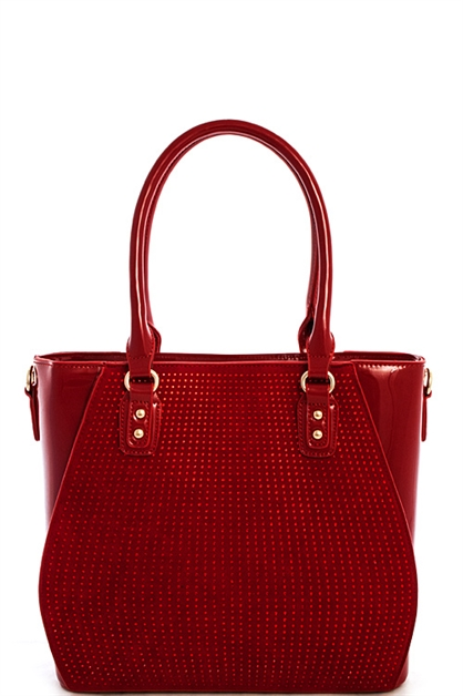 Fashion Dotty Tote Bag - orangeshine.com