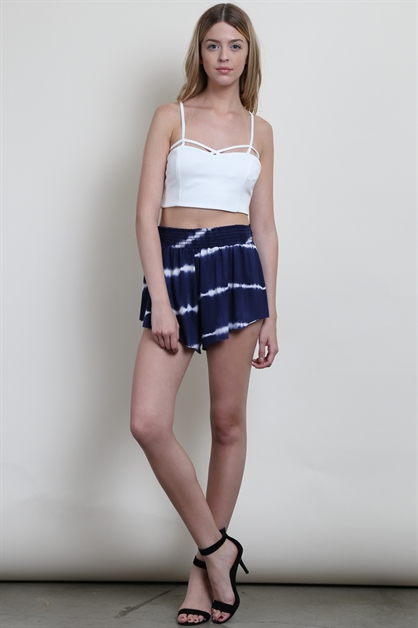 TIE DYE SHORT PANTS - orangeshine.com