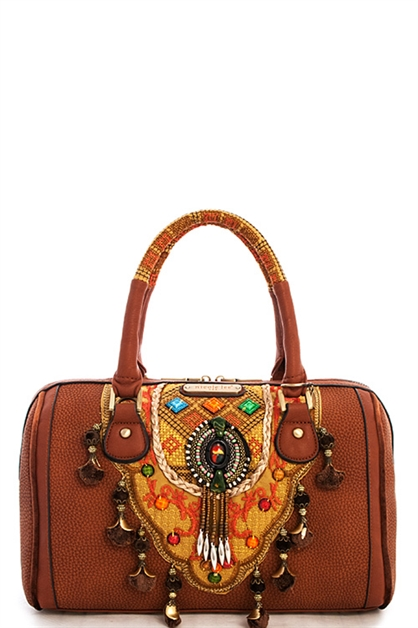 Nicole Lee Fabiola Boston Bag - orangeshine.com