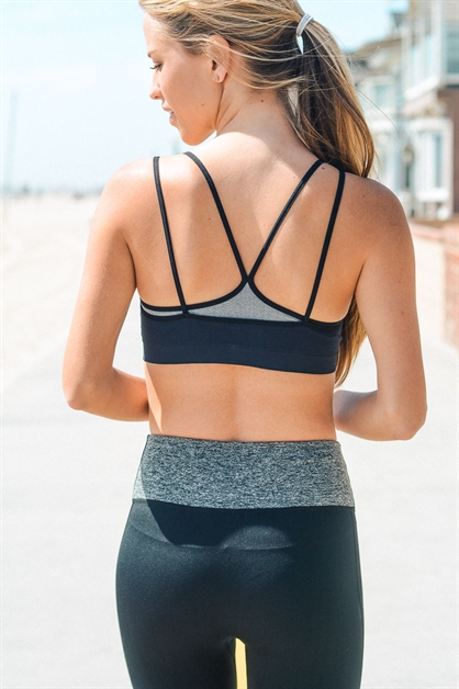 Two Layer Sports Bra - orangeshine.com