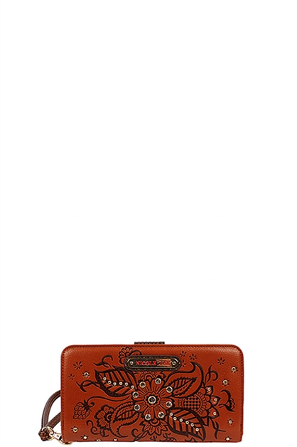 Nicole Lee Floral Wallet - orangeshine.com