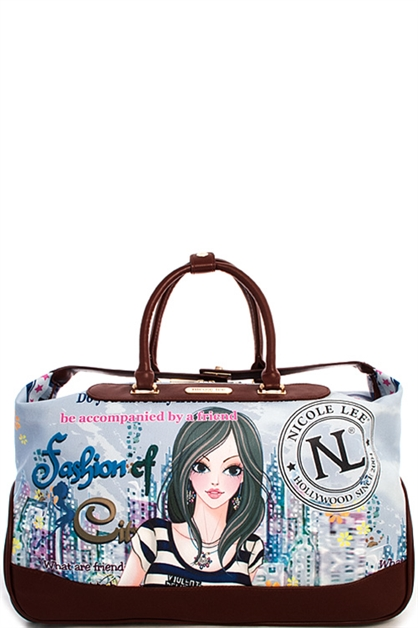 Nicole Lee Teresa Duffle Bag - orangeshine.com