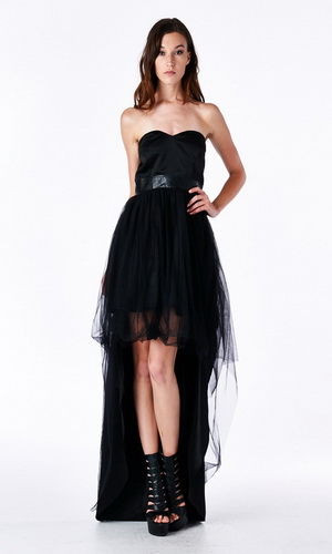 Black Gala Dress - orangeshine.com