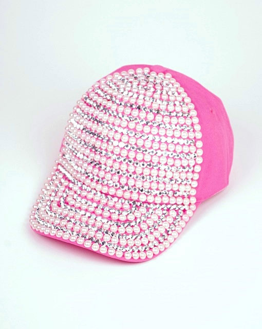 PEARL AND STUD CAP - orangeshine.com