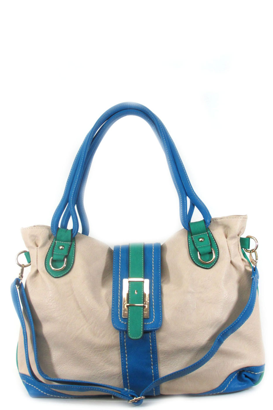 Front buckle shoulder bag - orangeshine.com