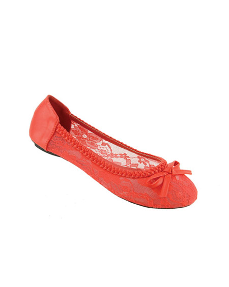 BRAIDED LACED BALLERINA PLATFORM - orangeshine.com