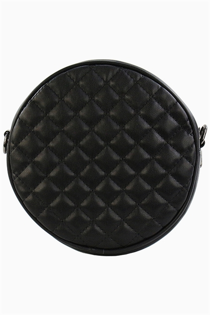 ROUND QUILTED MINI POUCH - orangeshine.com