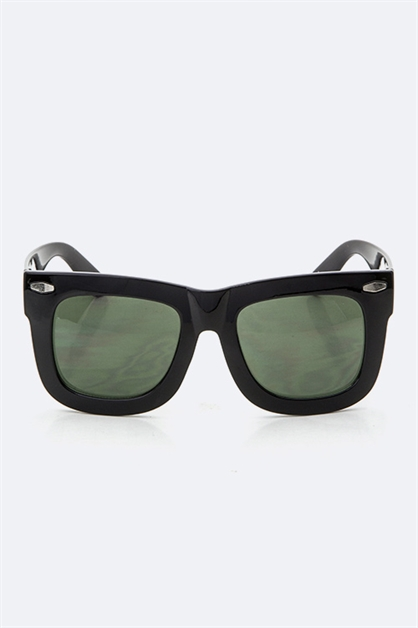 Wid Frame Retro Sunglasses - orangeshine.com
