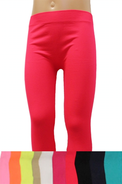 Girls Long Leggings - orangeshine.com