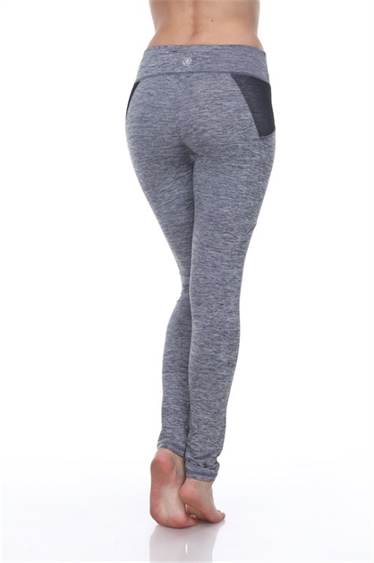 Grounded Pants in Melange Grey - orangeshine.com