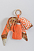 Unique Bow Wrapped Keychain - orangeshine.com