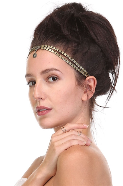 BOHEMIAN ANTIQUE HEAD CROWN - orangeshine.com
