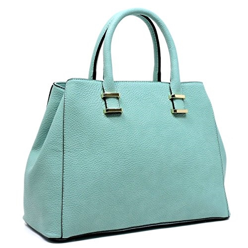Top Handle Satchel Handbag  - orangeshine.com
