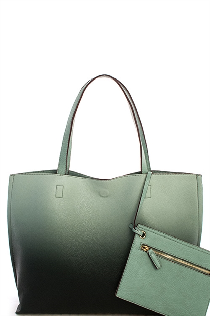 Street Level Two Tone Tote - orangeshine.com