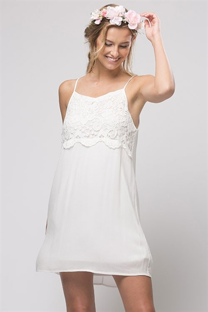 CROCHET BABYDOLL DRESS - orangeshine.com