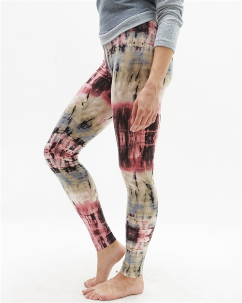 TIE DYE LEGGINGS - orangeshine.com