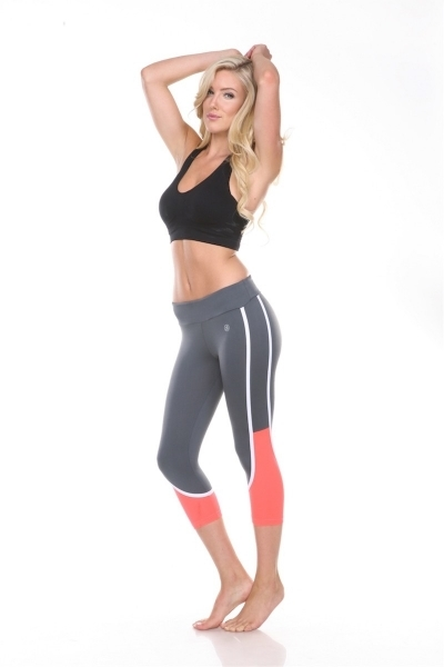 Summer Charcoal Capri - orangeshine.com