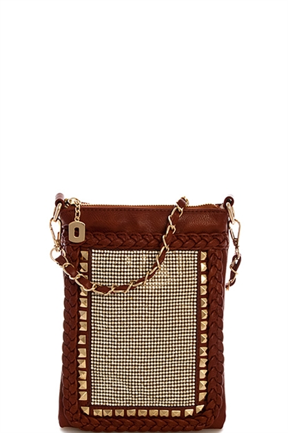 Fashion Rhinestone Crossbody - orangeshine.com