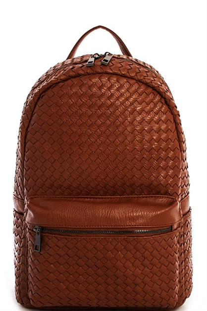 Woven Designer Chic Backpack - orangeshine.com