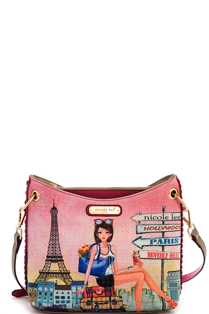 Nicole Lee Chloe Crossbody Bag - orangeshine.com