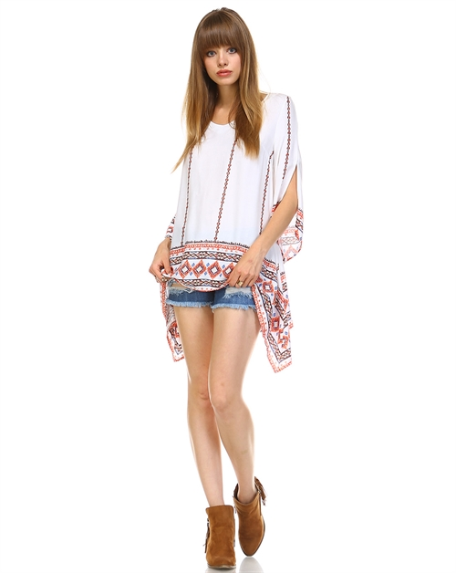 TRIBAL TUNIC TOP - orangeshine.com