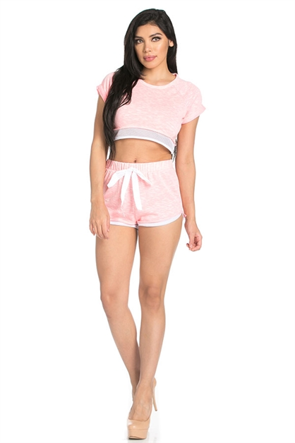 Casual shorts set - orangeshine.com