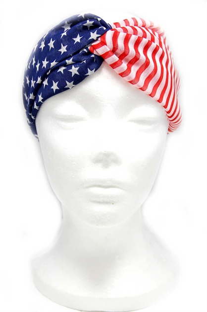 USA TWISTED HEADBAND - orangeshine.com