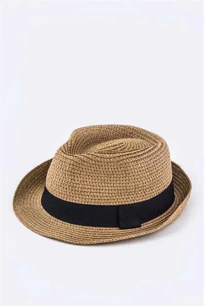 Kids Grossgrain Ribbon Hat - orangeshine.com