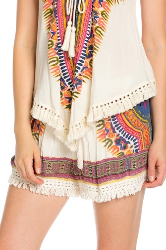 PRINT SHORTS WITH PRINGE - orangeshine.com