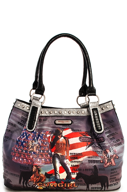 Nicole Lee Cowgirl Satchel - orangeshine.com