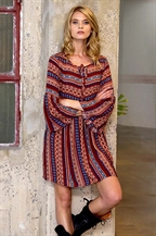 WOVEN DRESS - orangeshine.com