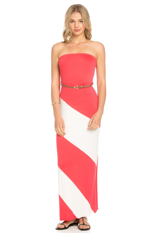 TUBE MAXI DRESS - orangeshine.com