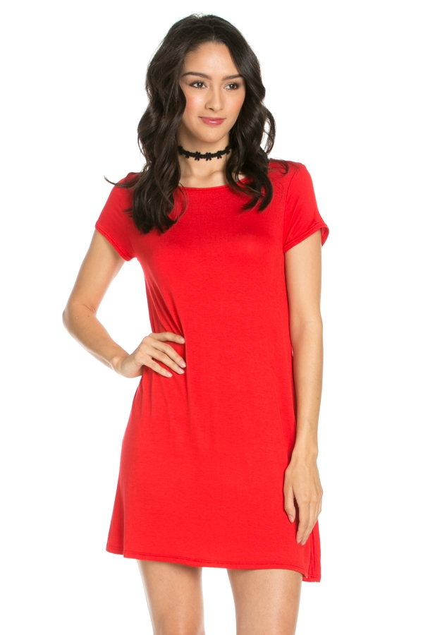 SOLID DRESS - orangeshine.com