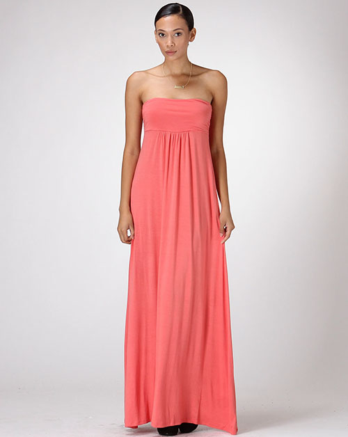 Trendy Maxi Dress - orangeshine.com