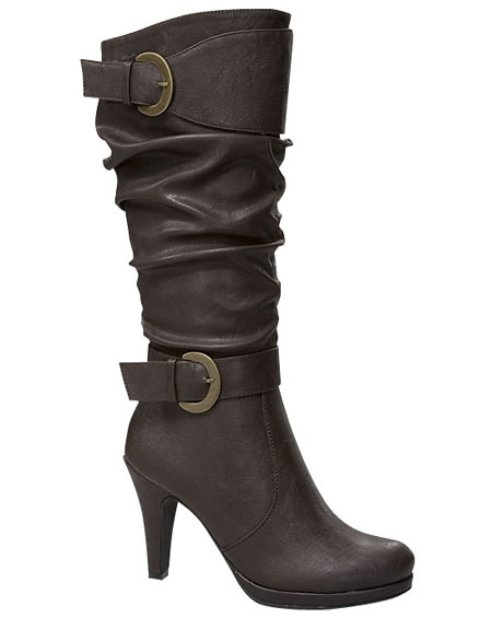 BUCKLED BOOTS WITH HEEL - orangeshine.com