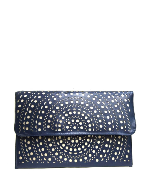 Cut-Outs Envelope Clutch - orangeshine.com