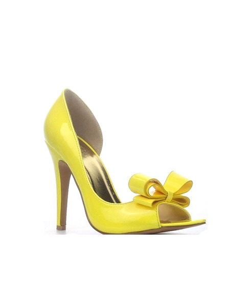 HIGH HEEL WITH RIBBON - orangeshine.com