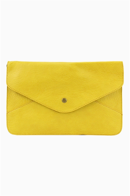 VIVID COLOR ENVELOPE CLUTCH - orangeshine.com