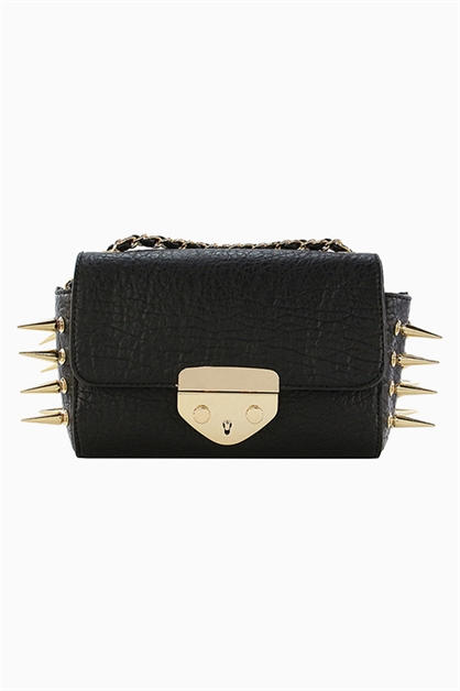 SPIKE MINI BOX CROSSBODY - orangeshine.com