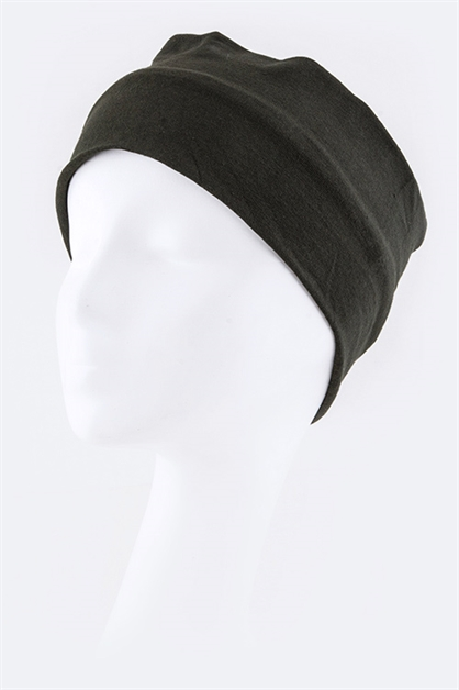 Jersey Knit Stretch Headband - orangeshine.com