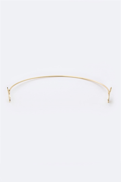 Gold Leaf Iconic Headband - orangeshine.com
